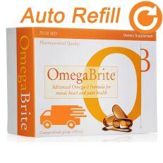 Omegabrite Omega-3 fish oil gelcaps auto-refill